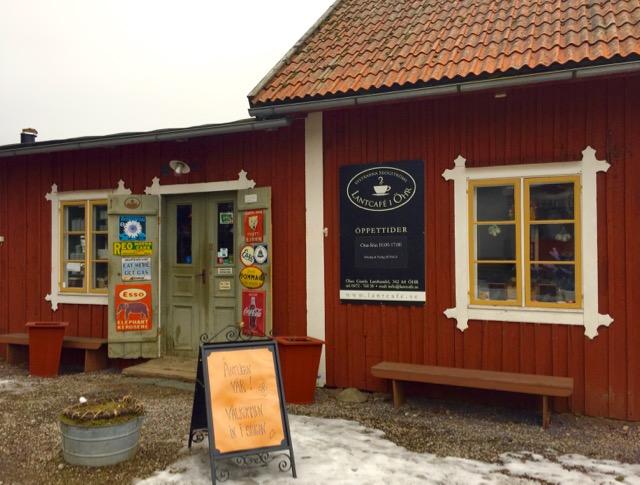 Lantcafé i Öhr, Småland